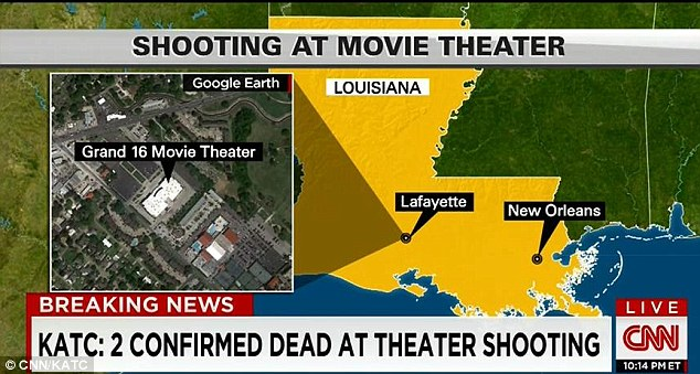 The gunman, described as an 'an older white man,' reportedly took his own life