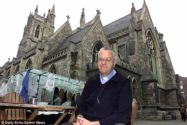 Canon Dr Stephen Palmer, 68, was yesterday jailed for 39 months after sexually assaulting a churchgoer