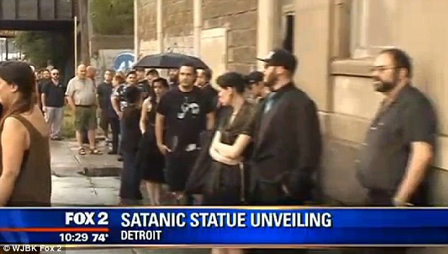 The group's co-founder says that Detroit was selected as the host city for the unveiling because of the 'strong congregation' the city has