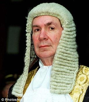 Labour peer Lord Irvine of Lairg (Alexander Irvine)
