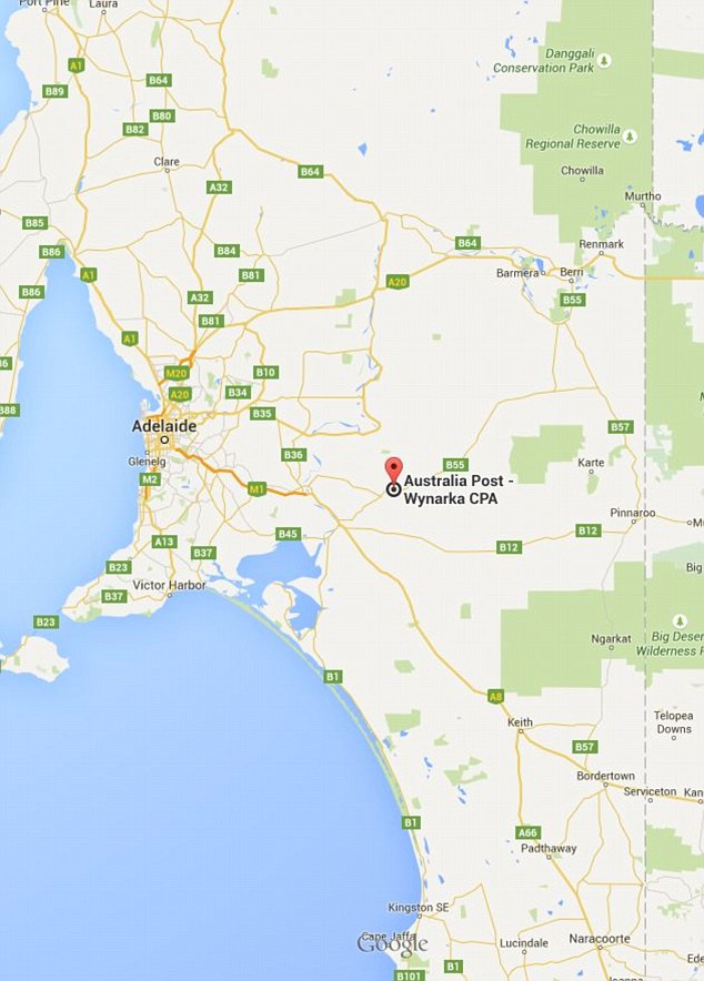 Residents living in the handful of houses at Wynarka noticed a 'mystery man' carrying a suitcase on the Karoonda Highway on April 13 and May 26. The man was about 60 years old, of Caucasian appearance, average height, lightly built, clean cut and neatly dressed