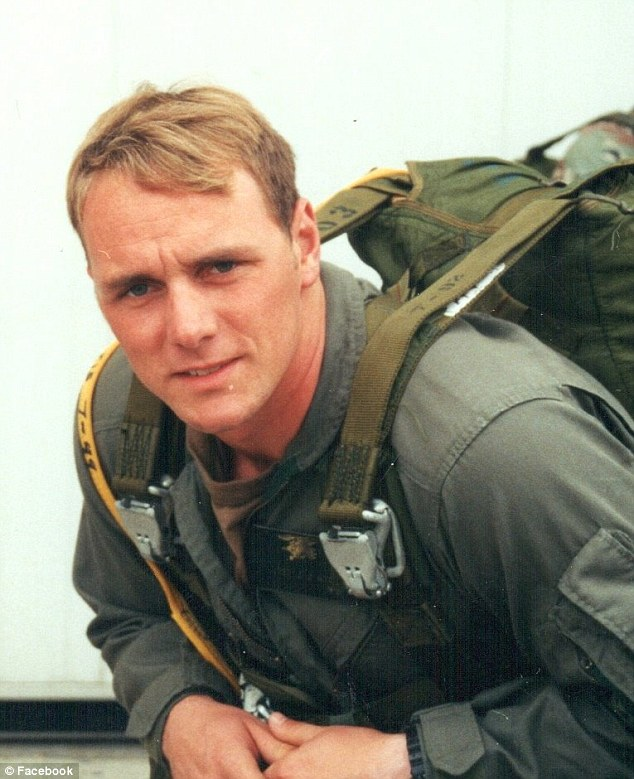 Claims: Former SEAL Brett Jones, pictured, filed a complaint against the CIA, alleging that he was mistreated while working a military contract in Afghanistan