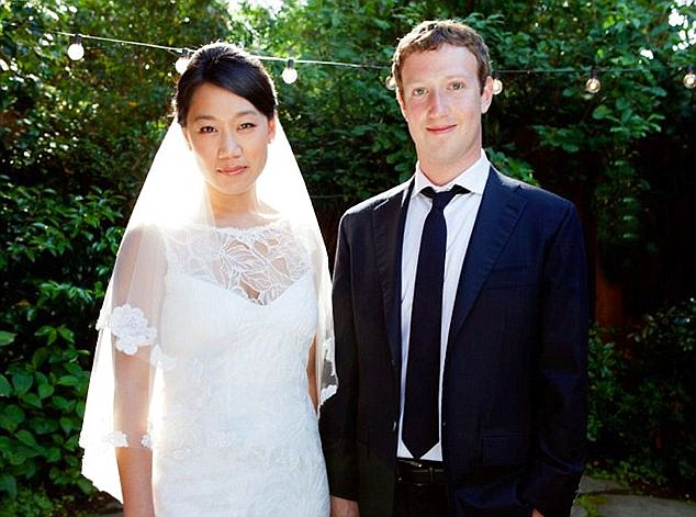 Image result for mark zuckerberg & wife