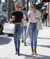 Kendall Jenner and Gigi Hadid go shopping for underwear ...
