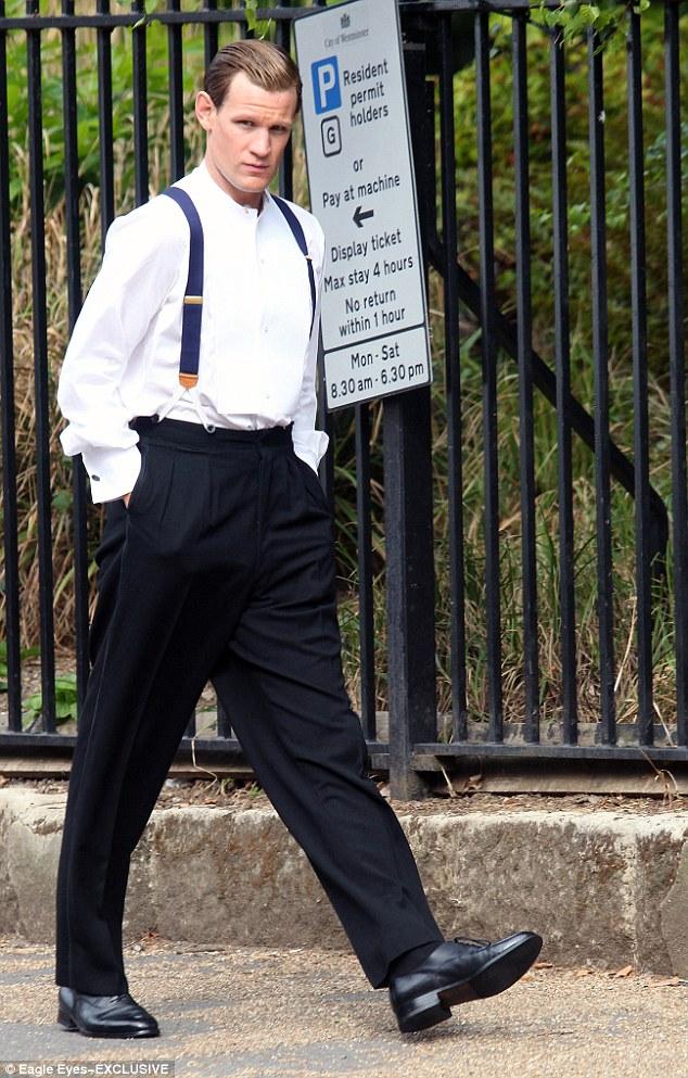 Matt Smith Transforms Into Prince Philip For Netflix Show
