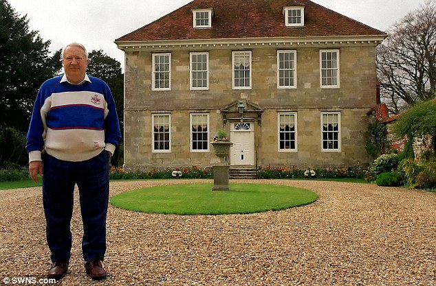 One of Sir Edward Heath's alleged victims claims he was sexually assaulted aged 12 in a Mayfair flat in 1961, after the MP (pictured outside his home in Salisbury in 1992) spotted him walking the streets alone