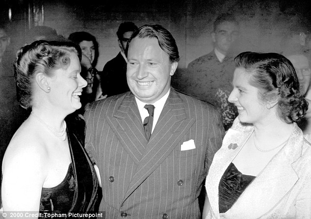 Allegation: Ted Heath has been accused of raping a 12-year-old boy who said he learned of the former MP's identity after seeing a picture of him with Margaret Thatcher (right). It is unclear whether this was the photo