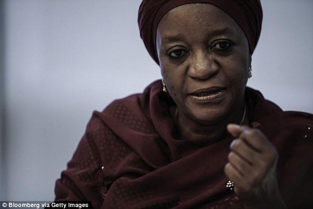 Despicable: enviado especial de la ONU para la violencia sexual en los conflictos, Zainab Bangura, dijo: