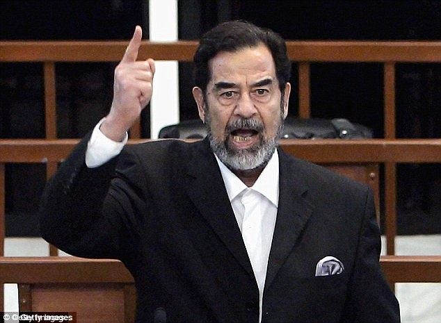 Tyrant: Former Iraqi dictator Saddam Hussein built his regime and cult of personality through his use of fear