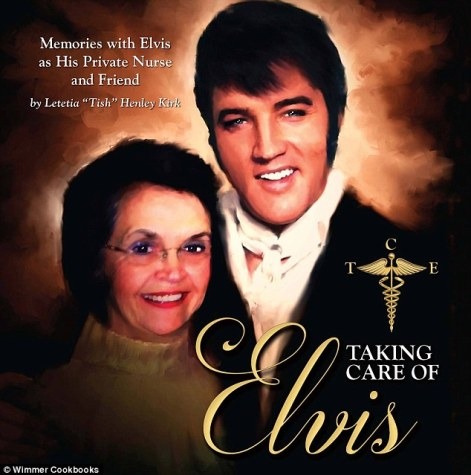 Elvis Presley's private nurse from 1972 until his death has written a book. The self-published book, titled 'Taking Care of Elvis - Memories with Elvis as His Private Nurse and Friend', is a collection of short stories and never before published photos