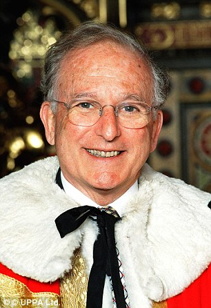 Drama: Lord Janner failed to appear in court today and may now face arrest if he fails to show up this afternoon