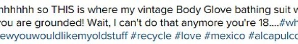 Vintage: Kris tweeted to say that she wanted to ground the starlet for stealing her clothes