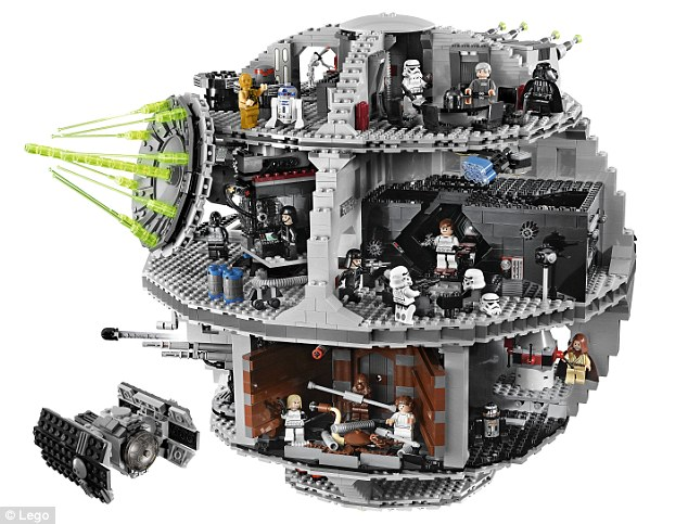 Using instructions to build Lego toys harms youngsters  problem     Lego kits  like this Death Star from the Star Wars series  have proven to