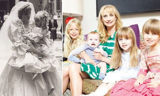 Patrick Lichfield's photograph of Princess Diana by bridesmaid Clementine Hambro