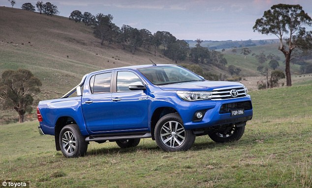 Terror experts claim an alarming number of stolen Toyota Hilux utilities  are being shipped away to