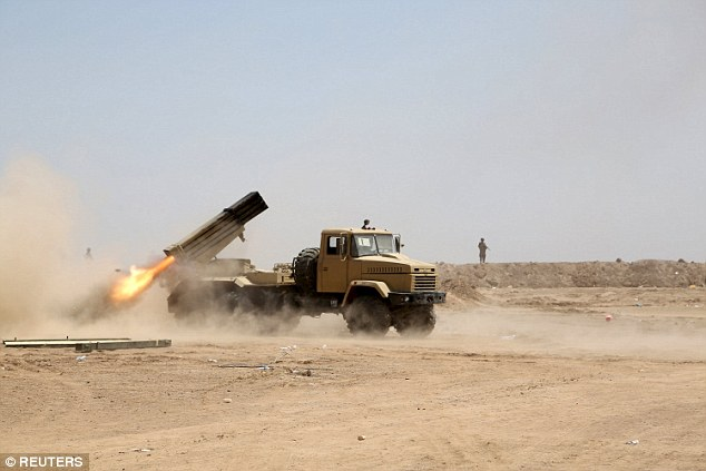 Sunday's attack took place in the rural district of Jaramshah north of Anbar's provincial capital, Ramadi
