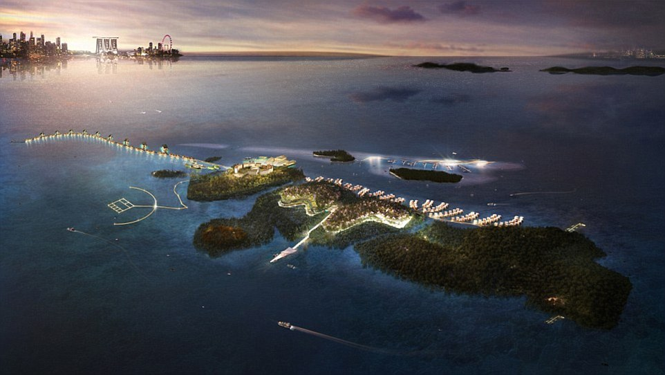 Funtasy Island in Indonesia is poised to become the world's largest eco-resort