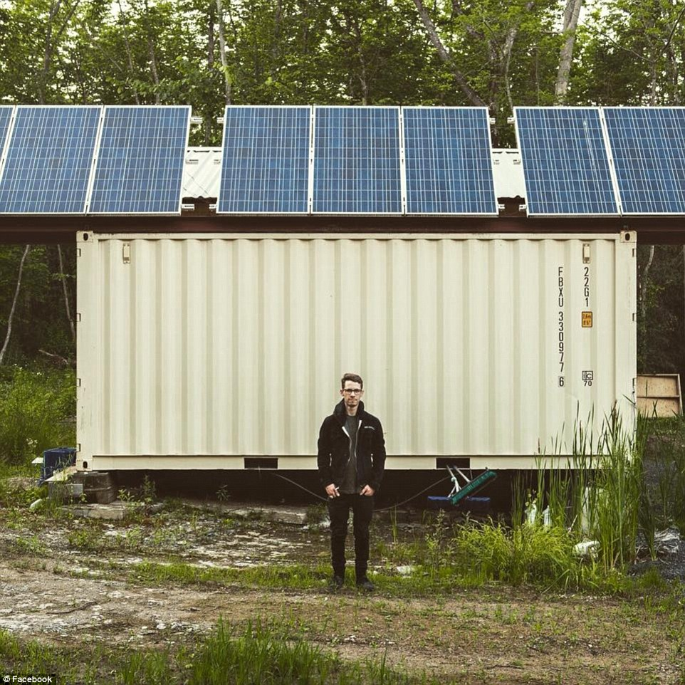 Best Kitchen Gallery: Joseph Dupuis Built Shipping Container Home Puts It Up For Sale For of Solar Shipping Container Home on rachelxblog.com