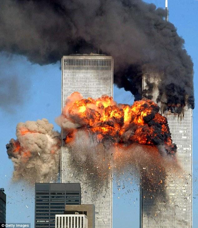Terror: Aunque Marcy Fronteras logró luchar su camino por una escalera a la planta, 2.606 personas murieron en el World Trade Center y alrededores en los 11 de septiembre de 2001