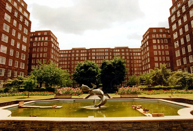 Row: Mr Proctorsaid he did not attend 'sex parties' at apartments in Dolphin Square (pictured) but Nick appears to have claimed that the former Tory MP did