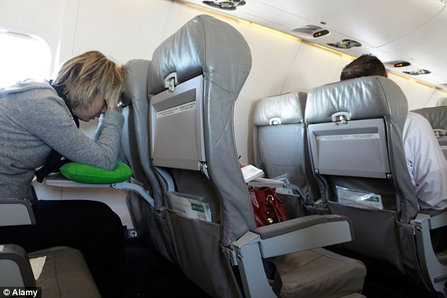 Image result for trying to sleep on economy long haul flight