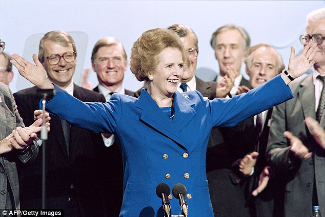 Dr Manolis Kallistratos, who carried out the research, said Margaret Thatcher (pictured) 'didn't want to be disturbed around 3pm'
