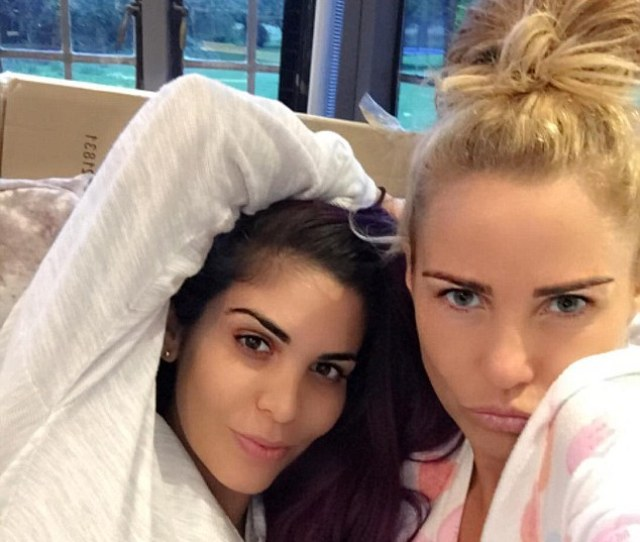 Bffs It Appears That Cbbs Former Stars Katie Price  And Cami Li