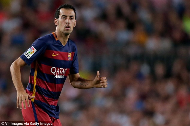 Image result for busquets