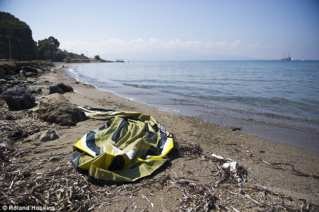 Thousands of people are risking their lives to cross the sea and the evidence can be seen on the beach where the bodies of the two brothers washed up
