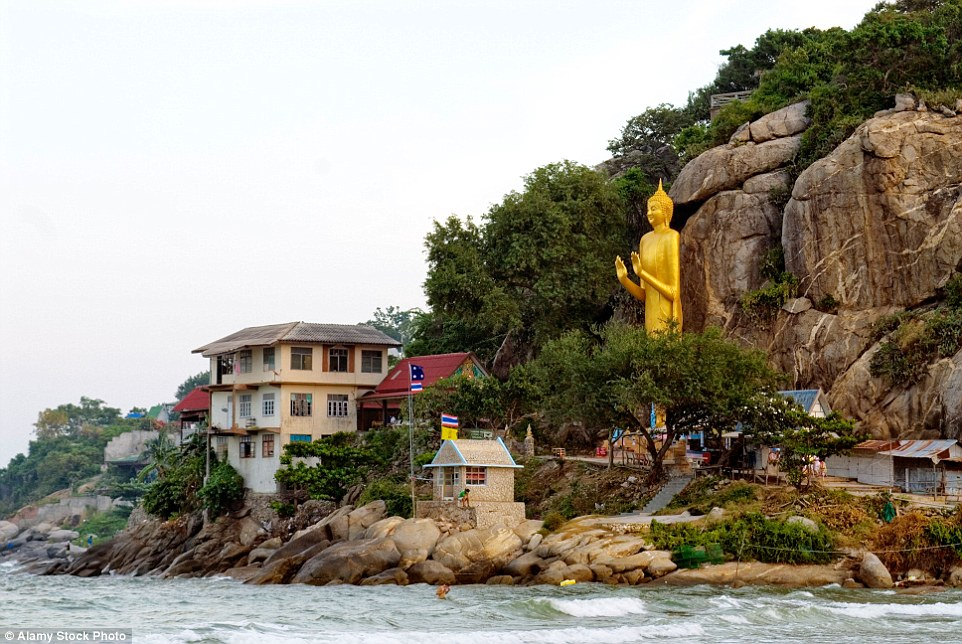 The writer visited Khao Takiab, a wooded outcrop jutting out into the sea like a clenched fist just on the edge of Hua Hin