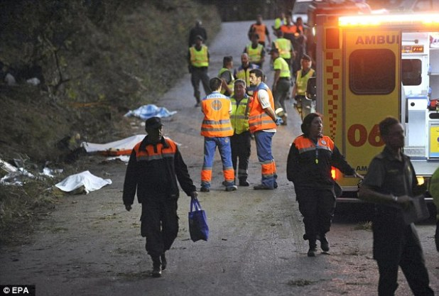 The reasons for the accident are being investigated, with police and ambulance services still at the scene supporting victims and their families