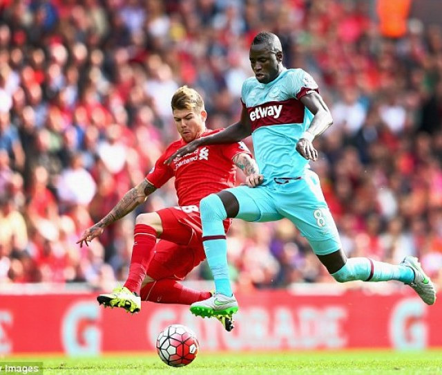 Kouyate Helped His West Ham Side Defeat Liverpool   In Their Previous Premier League