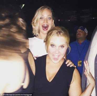 BFFs Jennifer Lawrence And Amy Schumer