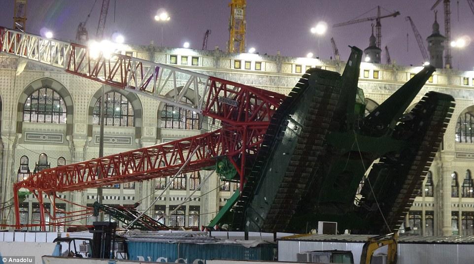 Desastres: La Gran Mezquita es por lo general en su más concurrido los viernes, el día semanal de oración musulmana