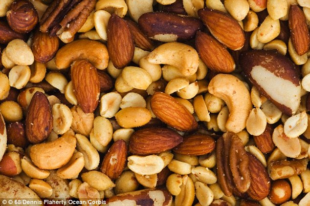Women eating a Mediterranean diet supplemented with nuts showed a reduced risk of breast cancer, but it was not statistically significant compared with women in the group told to reduce their fat