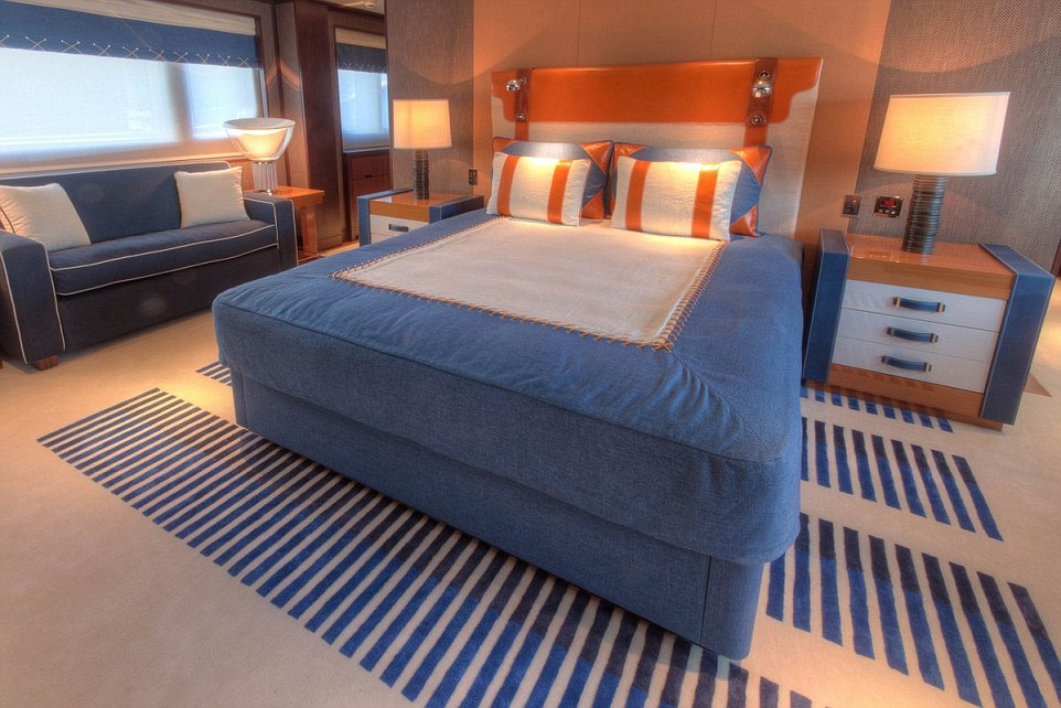Ten guests can sleep comfortably in five en-suite cabins on board Madsummer, including a master suite and two double cabins