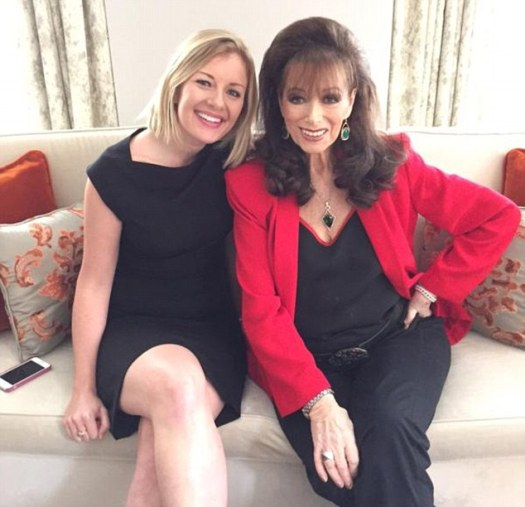Collins (right) gave an interview from her home in Beverly Hills five days ago, saying she had no regrets