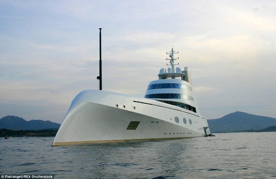 Russian Billionaire Andrey Igorevich Melnichenkos Yacht