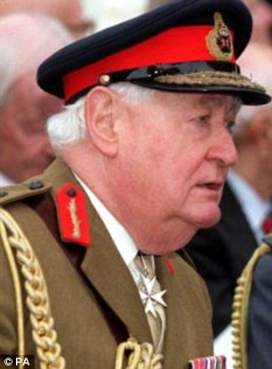 Questions: Police have interviewed Lord Bramall, 91, one of the country's most senior former soldiers