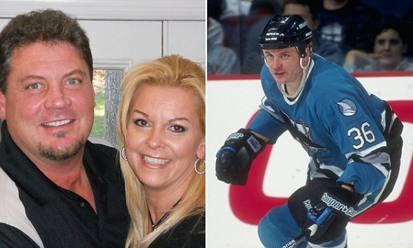 NHL star Todd Ewen found dead in an apparent suicide aged ...