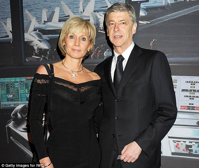 Split: Arsene Wenger is to divorce his wife Annie after the pair had a 'separation of bodies' judgment issued
