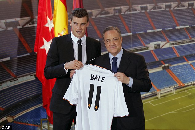 Gareth Bale is the world's most expensive player after he completed a £85.3m move to Real Madrid in 2013