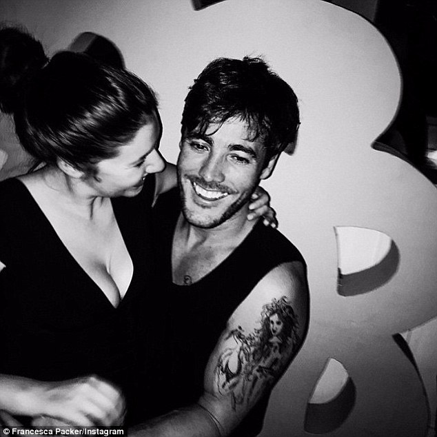 Francesca Packer Barham And Boyfriend Joshua Mullane Have