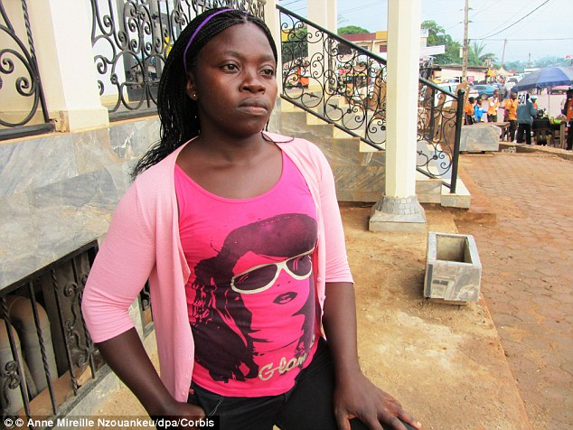 Jeanne Bella, 27, was subjected to breast ironing when she was just ten in the hope that her breasts would 'disappear'