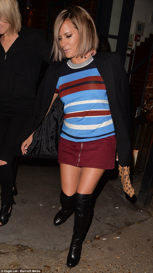 Caroline Flack Ditches Her Purple Do For Jamie Olivers