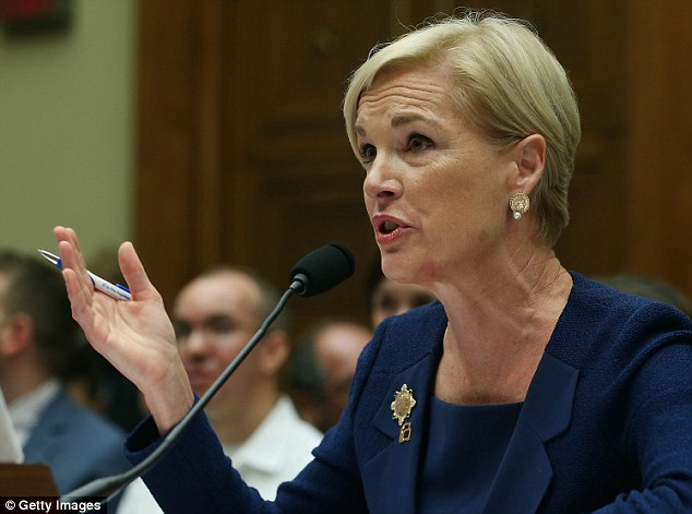 Planned Parenthood President Cecile Richards maintained that the group does not make a profit on the 41 per cent of funding they receive from the government when she testified before Congress on Tuesday