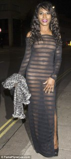 51-year-old Sinitta In Black Sheer Outfit At The National Reality TV Awards