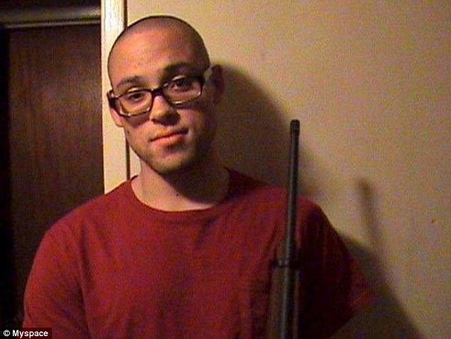 Cruel: Chris Harper-Mercer ordered a girl to beg for her life then shot her as she pleaded, a survivor recalls