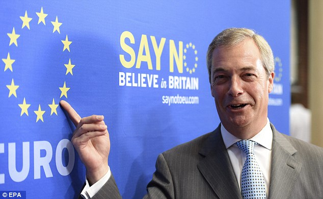 Nigel Farage faces a European Parliament investigation for using taxpayer funds to pay for a roadshow around Britain campaigning against the European Union