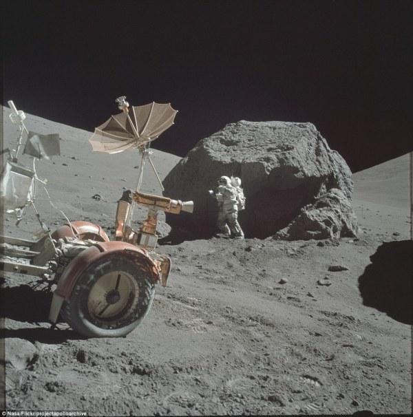 NASA release Apollo mission photos to Flickr including
